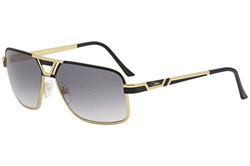 a8c00ab89c0 Cazal 9071 Sunglasses 001SG Black Gold   Grey Gradient Lens 61 mm ...