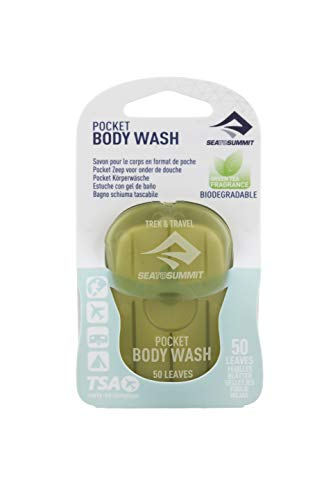 Sea To Summit Trek & Travel Pocket Body Wash (50 Leaves/ .5 Ounce)