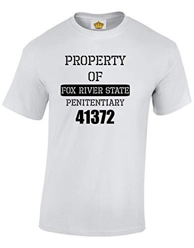 Adolescents Blanc T Crown Cadeau Property Designs River shirts Et Pour Nouveaute Of Hommes Fox PvZBqwOv