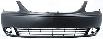 NEW Primered Front Bumper Cover for 2001-2004 Chrysler Town /& Country w// FOG