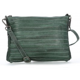 FREDsBRUDER RIC Waxed Layer Ceinturetier Crossbody Dark Green