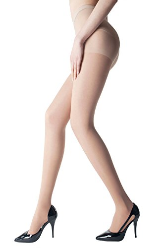MD Graduated Compression Pantyhose 20-30 mmHg Firm Pressure Surgery Recovery Medical Quality Ladies Waist High Sheer Support Stockings M