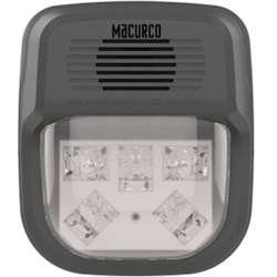 Macurco HS-C Macurco Horn Strobe Combo (Clear) - Works with Macurco control panels and 6-Series detectors