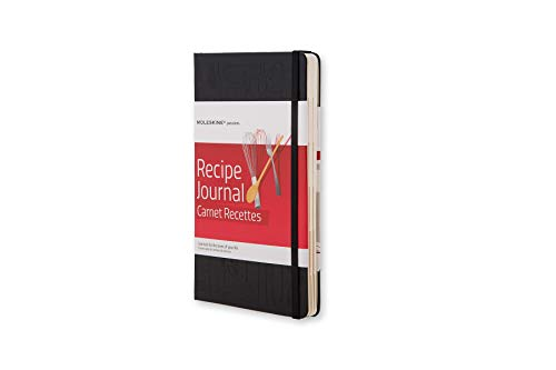 Moleskine Passion Journal, Recipe, Hard Cover, Large (5