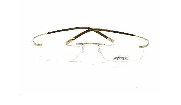 e9f5a53bffa Amazon.com  Silhouette Eyeglasses Titan Minimal Art Chassis 7581 6050  Optical Frame 17x145  Health   Personal Care