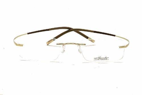 Silhouette Eyeglasses Titan Minimal Art Chassis 7581 6050 Optical Frame 19x150mm