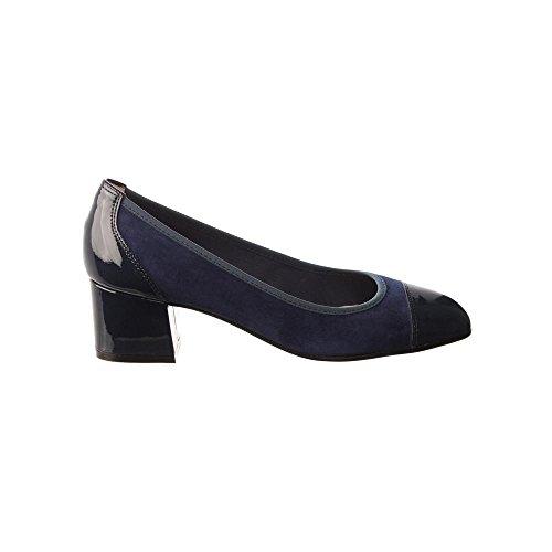 Hispanitas  Hv75302, Damen Pumps Blau blau Blau