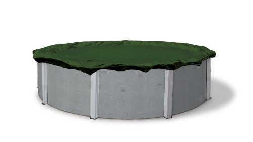 Blue Wave Silver 12-Year 15-ft Round Above Ground Pool Winter Cover (Summer Escapes 15 X 42 Pool Pump)