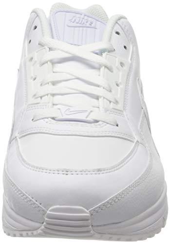 Nike Mens Air Max Ltd 3 Sneaker, White White White, 44.5 EU 2