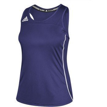 Adidas Vrouwen Climacool Nut Mouwloze Jersey Coll Pur / Wht