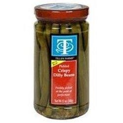 Tillen Crispy Dilly Beans 12 OZ (Pack of 12) by TILLEN FARMS