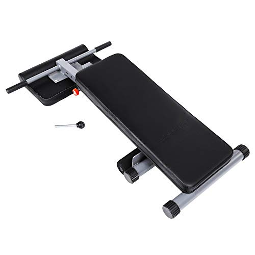 Kaluo Abdominal Fitness Workout Ab Bench Trainer Sit up Bench Exercise Adjustable Pro Core Strength