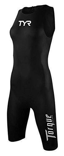 (Tyr Torque Elite Swimskin Female-Black-X Small)
