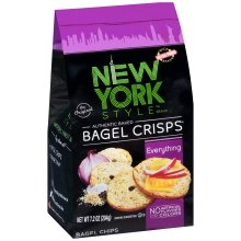 New York Style Bagel Crisps, Everything, 7.2 Ounce (Pack of 12) by New York Style