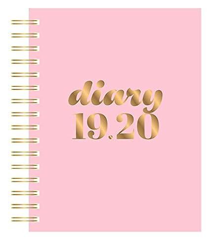 Collins Scandi 2019-2020 - Agenda (A5, día por página), color rosa