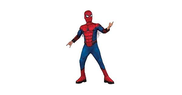 Amazon.com: TUJHGF - Disfraz de Spider-Man Homecoming Deluxe ...