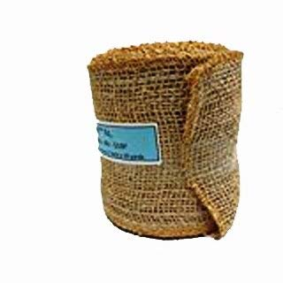 100/% Natural Burlap Mesh Ribbon Burlap Wreath Ribbon 5 inch x 30 Foot Eco-Friendly 7oz Fabric Wreath Making Burlap Natural Product AAYU Brand Premium Burlap Ribbon 12.7 cm