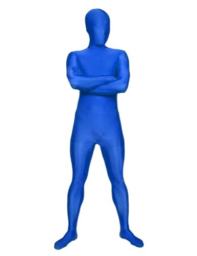 AltSkin Unisex Full Body Spandex/Lycra Suit, Blue, Large ()