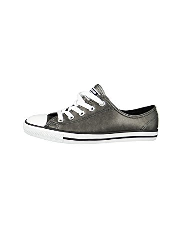 Converse All Star Dainty Ox Donna Sneaker Metallico