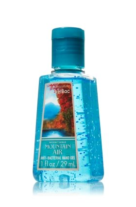 Montana Mountain Air Anti-bacterial Hand Gel 1 Fl Oz Bath and Body Works