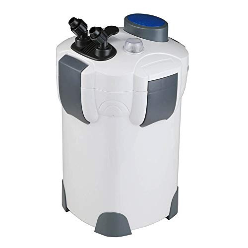 Polar Aurora 4-Stage External Canister Filter 525GPH with 9-watt UV Sterilizer New(525GPH) ()