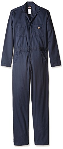 Dickies Men's Big-Tall Basic Cotton Coverall, Dark Navy, 2X/Tall
