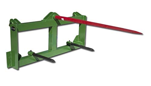 - Titan Tractor Hay Spear Attachment for John Deere 3000 lb Capacity Front Loader