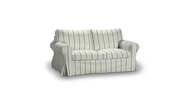 Funda para IKEA EKTORP 2 sofá en París a rayas azules ...