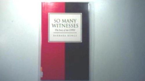 So many witnesses: The story of the Churches' Fellowship for Psychical and Spiritual Studies 1953-1993