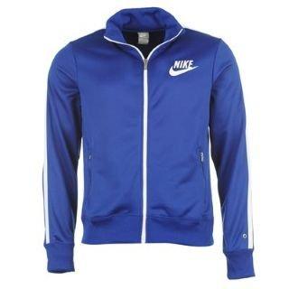 Nike Herren Trainingsjacke HBR Track, old royalwhitewhite