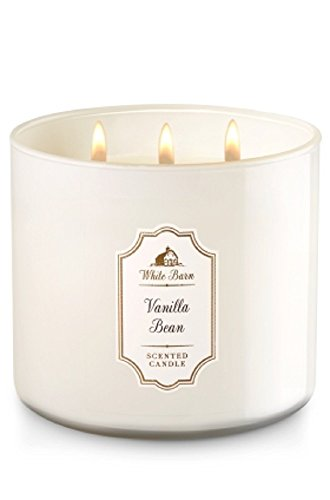 Bath & Body Works White Barn 3-Wick Candle in VANILLA BEAN by Bath & Body Works (Image #1)