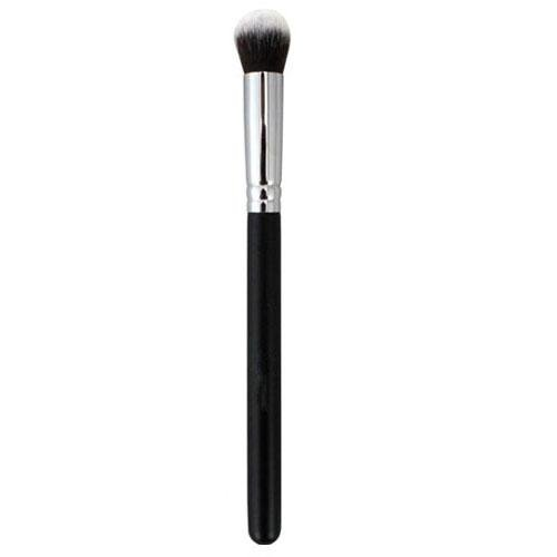 New Silver Soft Synthetic Small Cosmetic Blending Foundation Concealer Brush 01 Rounded FOR women girls TR.OD