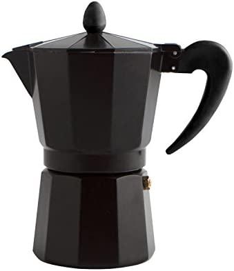 Quid Cafetera Italiana, Negro, 12 Tazas