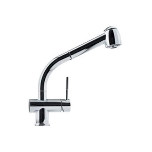 (Franke Logik Pullout Spray Single Hole Kitchen Faucet FFPS700 Chrome)