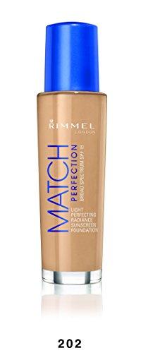 Rimmel Match Perfection Foundation, Nude, 1 Fluid Ounce