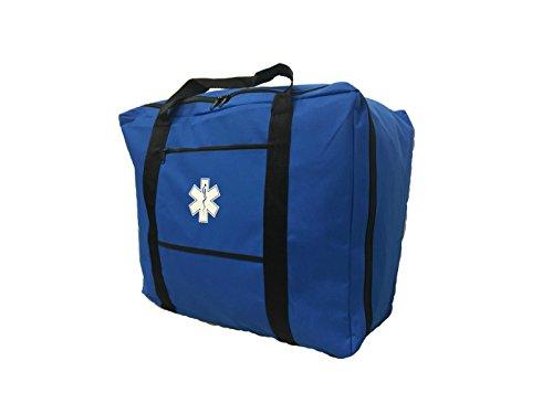 """LINE2design EMS - EMT Paramedic Gear Bag - Star of Life Logo- 26""""L x 16""""W x 20""""H by LINE2design"""