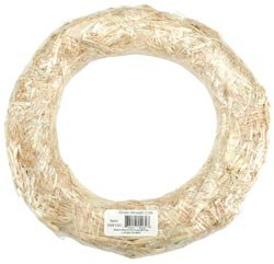 Bulk Buy: Floracraft Straw Wreath 12