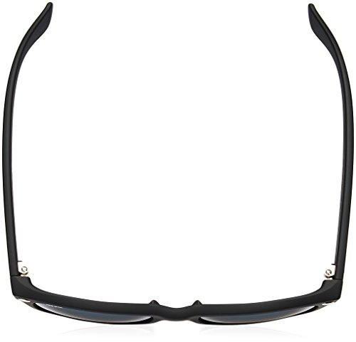 Ray hombre Rubber de Wayfarer New sol Ban Gafas Black para ffqP4