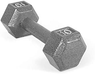 CAP Barbell Solid Hex Dumbbell, Single