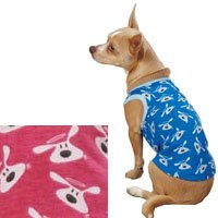 "DogIsGood ""Bolo"" Tank for Pets, Medium, Raspberry Sorbet, My Pet Supplies"