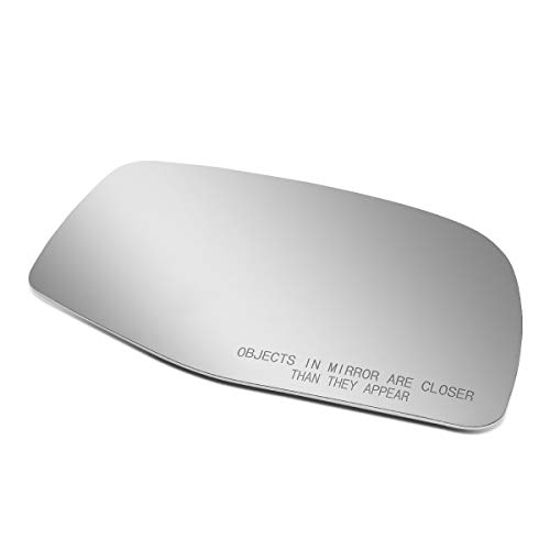 Passenger/Right Side Door Rear View Mirror Glass Lens Replacement for 1990-1997 Ford Aerostar/F150/Super Duty