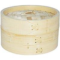 EM Home Vaporera de bambú para cocinar al
