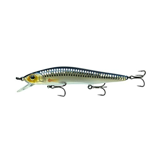 6th Sense Provoke 106X Jerkbait Custom Fishing Lure (Live Shiner)