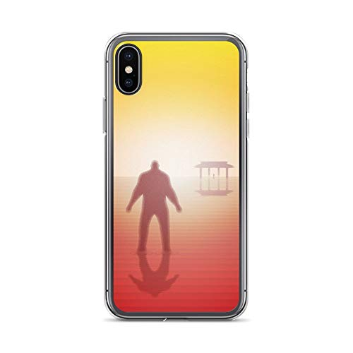 iPhone X/XS Case Anti-Scratch Motion Picture Transparent Cases Cover in The Soul Stone Movies Video Film Crystal Clear