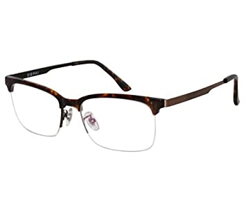 2a296cf673 Image Unavailable. Image not available for. Color  EyeBuyExpress Bifocal  Reading Glasses Mens Womens Rectangular Tortoise Frame Half Rim