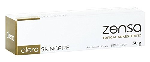 (Zensa numbing Cream — Maximum Strength Topical Anesthetic)