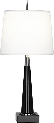 Robert Abbey Florence Black Marble Accent Table - Lamp Abbey Black Robert Table