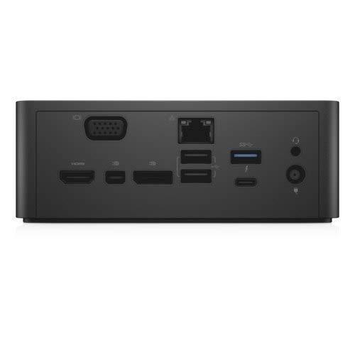 New Genuine Dock for Dell TB16 Thunderbolt Dock USB-C with 240 Watt Adapter MV6YJ 0MV6YJ (Renewed)