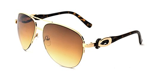 681bbf8956547 ABS by Allen Schwartz Women s Aviator Sunglasses