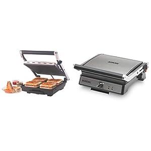 Borosil Super Jumbo BGRILLSS23 2000-Watt Grill Sandwich Maker (Black) and Super Jumbo 180¬∞ 2000-Watt Grill Sandwich…